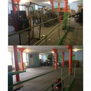 Youth Room Before and After 2